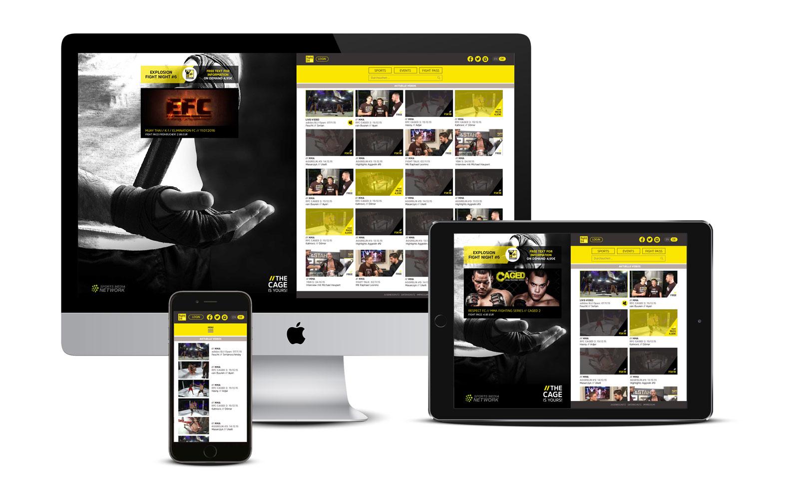 fight24.tv Videoportal