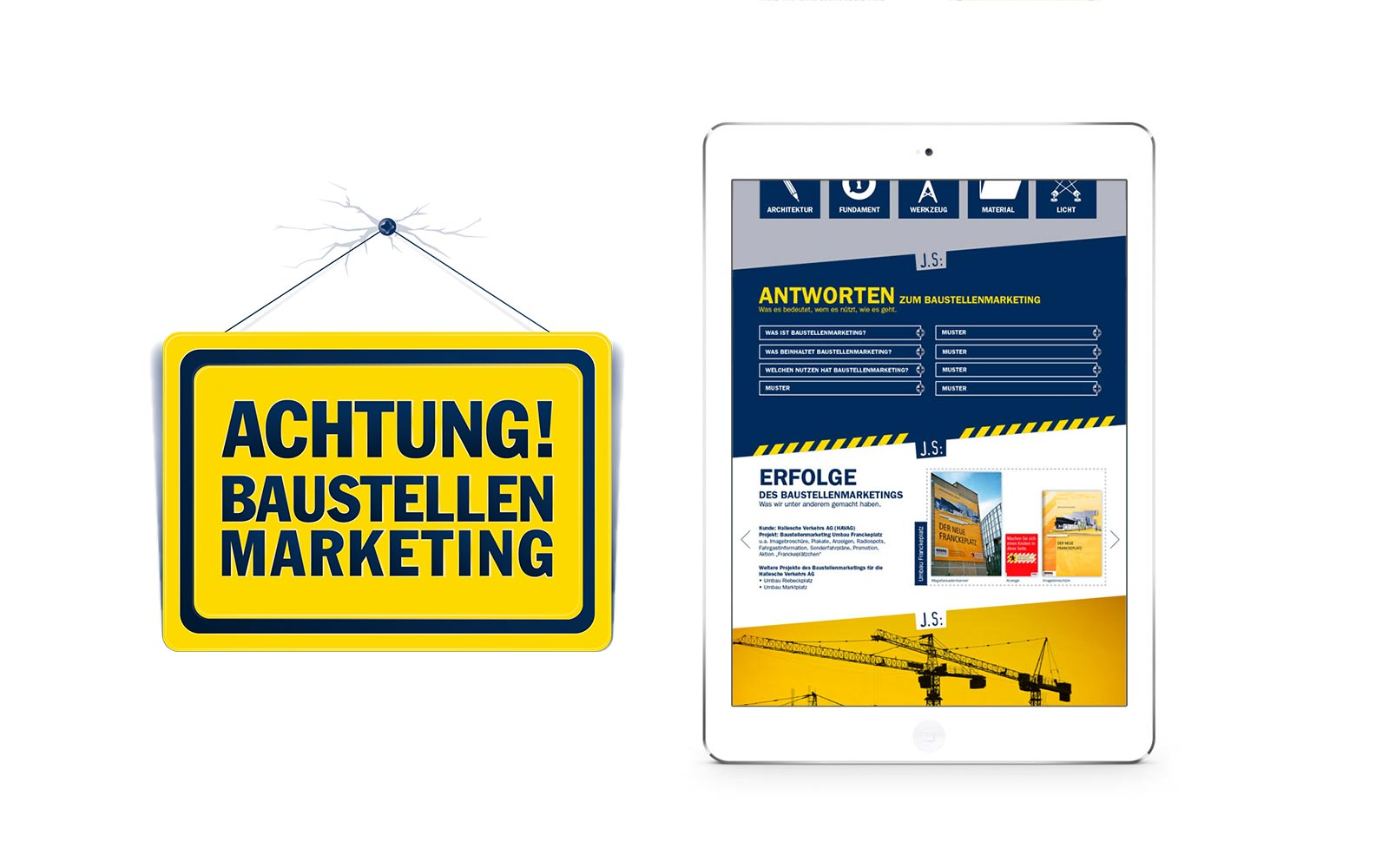 kathrin, krasselt, mediendesign, grafik, grafiker, leipzig, werbung, webdesign, logo, corporate, design, baustelle